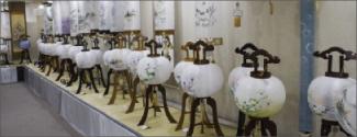 平成29年盆提灯展示中のイメージ